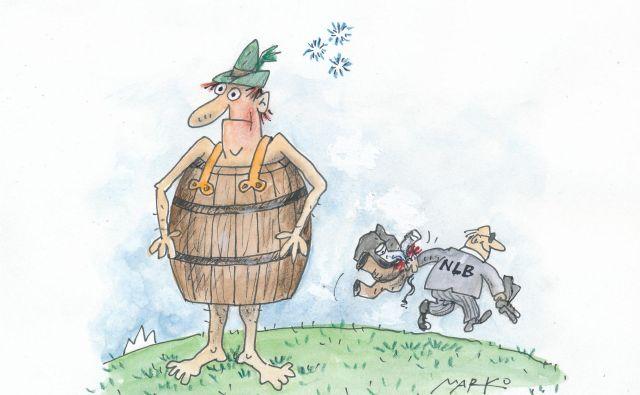 Največja delničarka, zdaj z dobrimi 40 odstotki, pričakovano ostaja država.Karikatura: Marko Kočevar