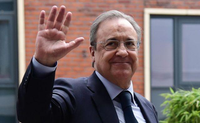 Florentino Perez želi ustvariti finančno še močnejši klub, kakršen je Real Madrid danes.
