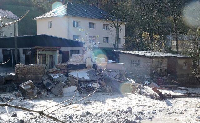 Med najhuje prizadetimi sta bili občini Tržič in Kranjska Gora. FOTO: Dejan Javornik