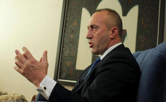 Kosovski premier <strong>Ramush Haradinaj.</strong>FOTO: Hazir Reka/Reuters
