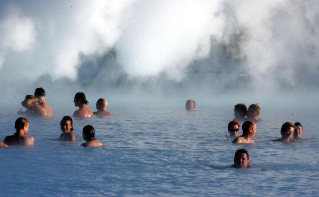Na Islandiji iz geotermalnih virov zagotovijo približno četrtino energije za ogrevanje. FOTO: Igor Modic