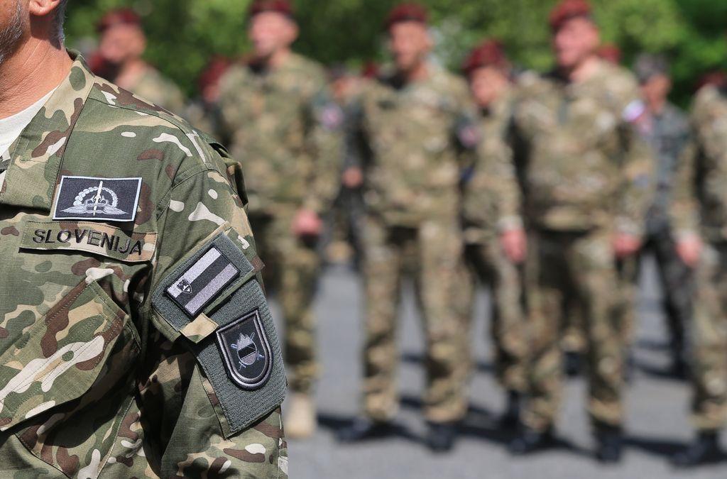 Slovenske vojake je spet zeblo v noge