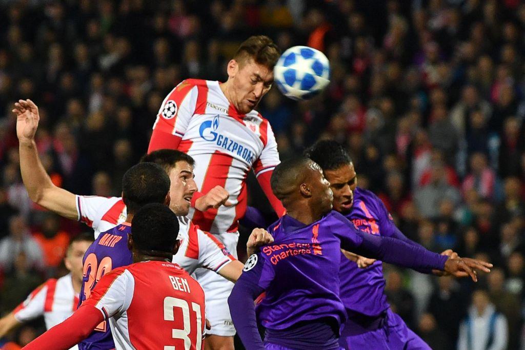 FOTO:Zvezda presenetila Liverpool, remija v Milanu in Neaplju