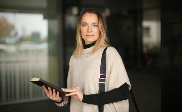 Izvršna direktorica in odgovorna partnerica za Deloitte Slovenija Barbara Žibret Kralj poudarja, da če bomo Slovenci gradili na stvareh, kjer smo močni, potem je to naša državna niša. FOTO: Jure Eržen/Delo