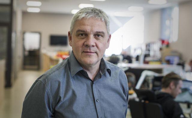 Andrej Orožen: Za vesoljsko industrijo smo podpisali milijonske posle, ki se že izvajajo. Foto Voranc Vogel
