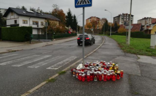 Nesrečo, po kateri sta umrla nosečnica, nekaj dni kasneje pa novorojenček, je povzročil pijan voznik. FOTO: Aleš Andlovič
