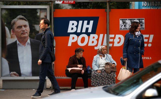Izvolitev Komšića za hrvaškega člana predsedstva BiH je dvignila veliko prahu, čeprav je bil po mnenju Inzka izvoljen skladno z veljavno volilno zakonodajo. FOTO: Reuters