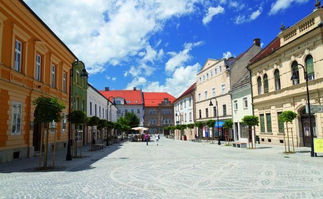 Staro mestno jedro Slovenj Gradca. FOTO: arhiv Spotur