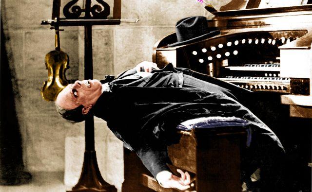 Lon Chaney kot Fantom iz opere Foto arhiv studia
