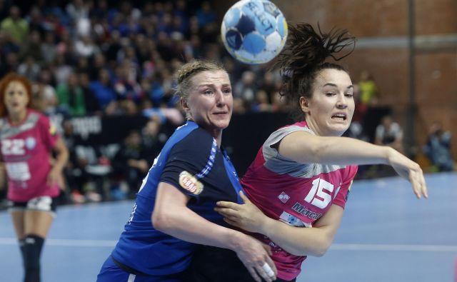 Tjaša Stanko je na štirih tekmah lige prvakinj dosegla 20 golov. FOTO: Blaž Samec