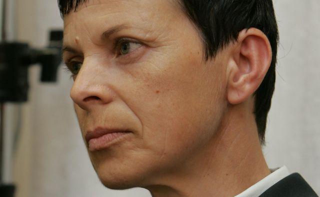 Alenka Ermenc je tudi prejemnica številnih priznanj. FOTO: Igor Modic/Delo