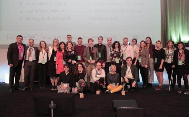 Evropska komisija je izmed 720 prispelih projektov izbrala 10 finalistov. FOTO: Evropska komisija