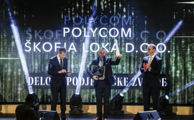 Delova podjetniška zvezda je škofjeloški Polycom. FOTO: Uroš Hočevar/Delo