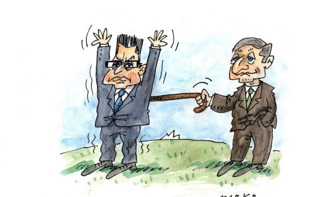 Če bo vsaka stranka pogojevala vsako zadevo, bo ta koalicija hitro končala svojo zgodbo.<br /> KARIKATURA: Marko Kočevar