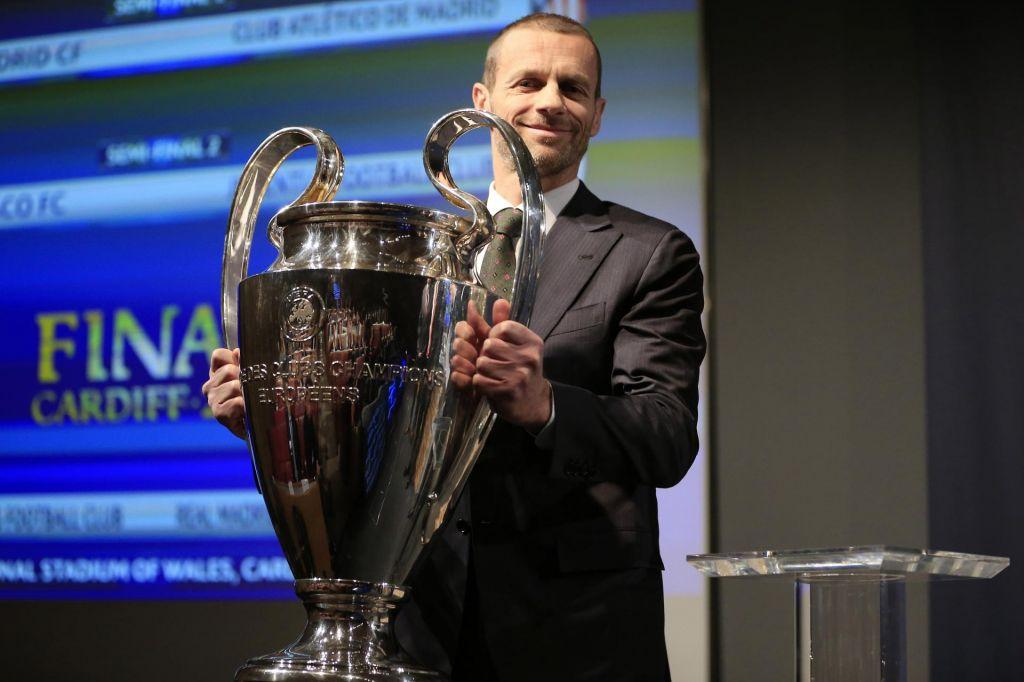 FOTO:Čeferin je edini kandidat za predsednika Uefe