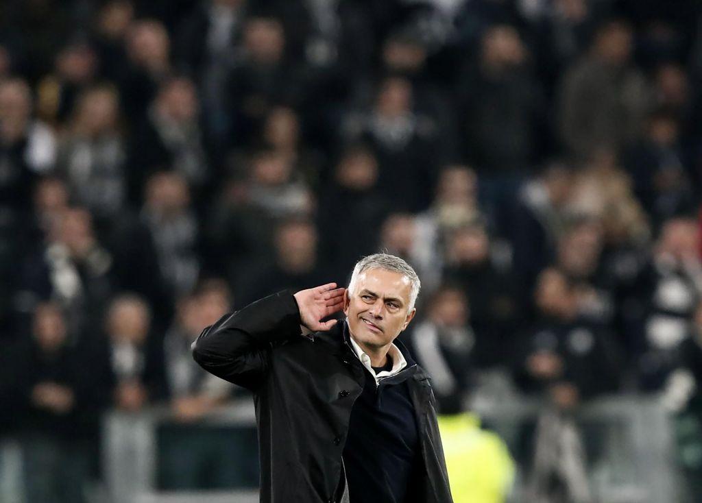 FOTO:Mourinho izzival Juventusove navijače, a bolj se smeji Italijanom