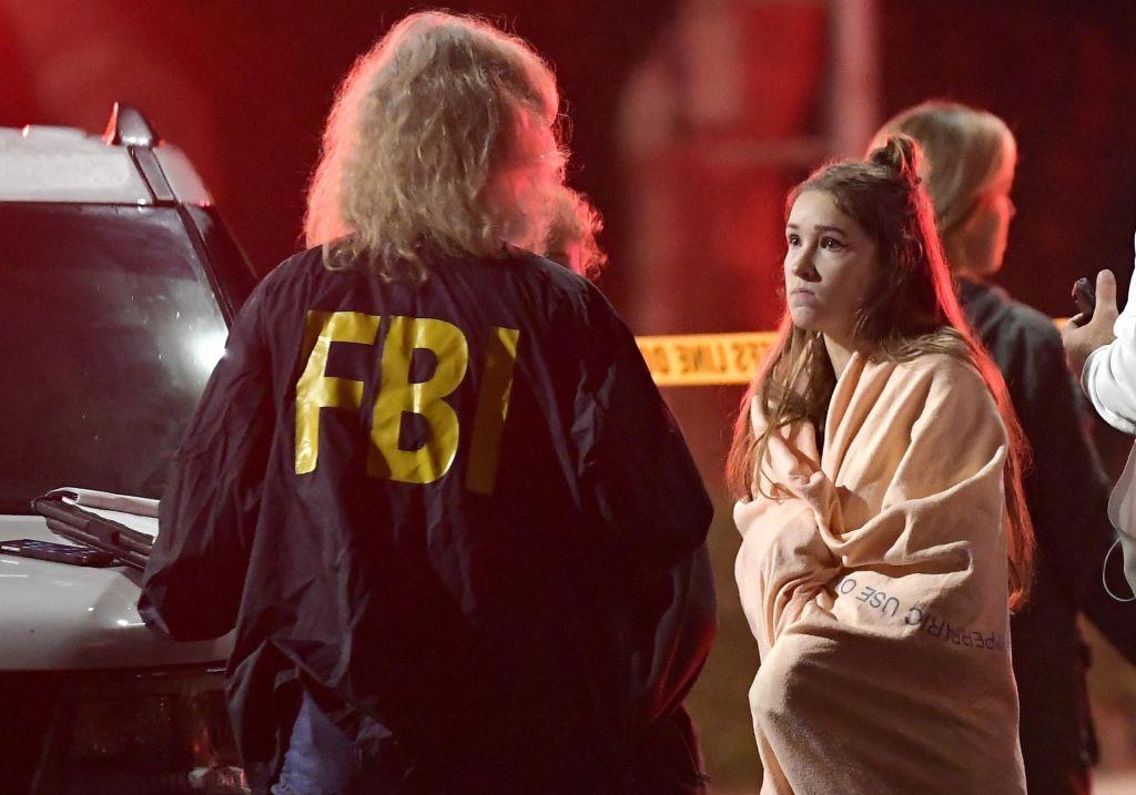 FOTO:Med obiskovalci bara tudi posamezniki, ki so preživeli najhujši strelski napad v Las Vegasu