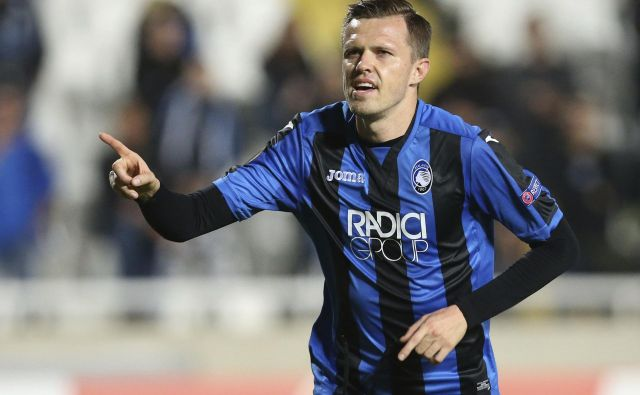 Josip Iličić bo napadel vratarja Samirja Handanovića ob »kitajski« uri 12.30.