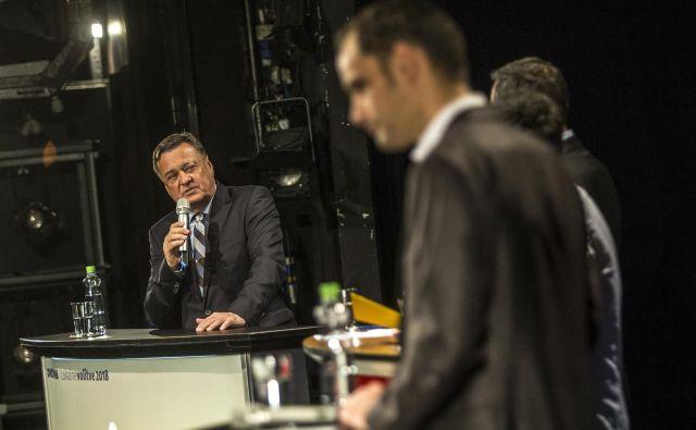 Prvo soočenje favoritov za ljubljanskega župana je razkrilo precej stvari.FOTO: Voranc Vogel/Delo