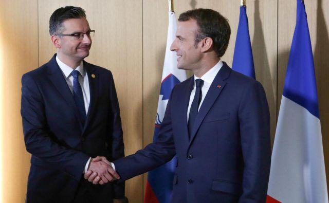 Macronovo gibanje se želi pred evroskimi volitvami povezati z liberalci in tudi širše.<br /> FOTO: REUTERS