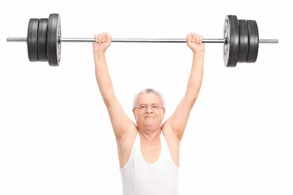 FOTO: Vadba moči za starejše