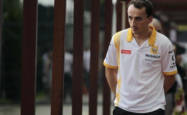 Robert Kubica se vrača v F1. FOTO: Bazuki Muhammad/Reuters