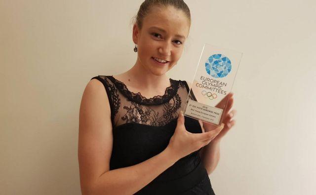 Eva Alina Hočevar je med najopaznejšimi evropskimi športnicami. FOTO:Kanu klub Simon