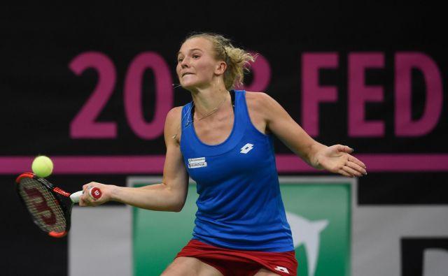 Češke tenisače niso imele težav z Američankami. FOTO: AFP
