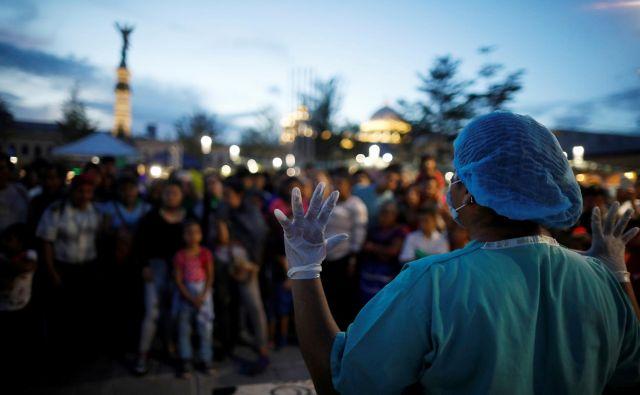 V Salvadorju veljajo eni najstrožjih zakonov glede splavov na svetu. FOTO: Jose Cabezas/Reuters