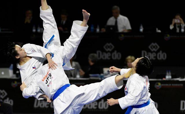 V Madridu poteka svetovno prvenstvo v karateju.Foto Javier Soriano Afp
