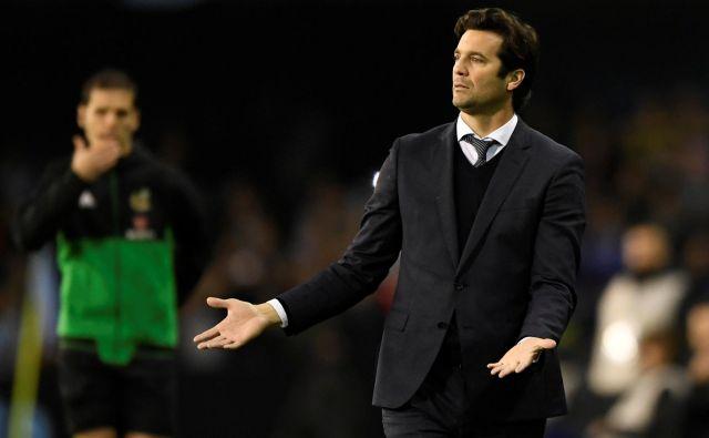 Santiago Solari, rešitelj madridskega Reala, si je zagotovil novo pogodbo, nič več ni začasni trener kluba. FOTO: Eloy Alonso/Reuters
