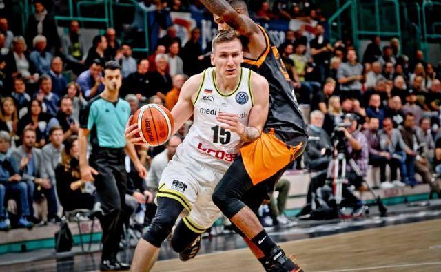 Gregor Hrovat je štiri sezone igral v Stožicah, tokrat bo gost. FOTO: FIBA