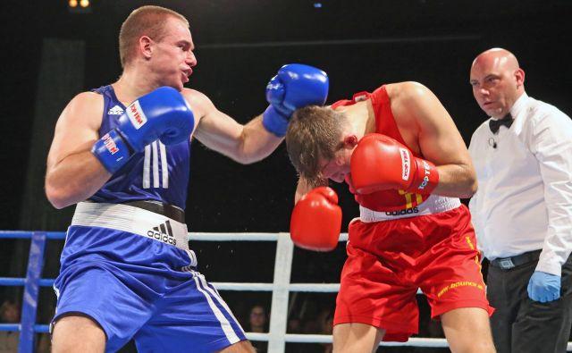 Aljaž Venko je uspešno štartal prvenstvo Evropske unije. FOTO: Tadej Regent/Delo