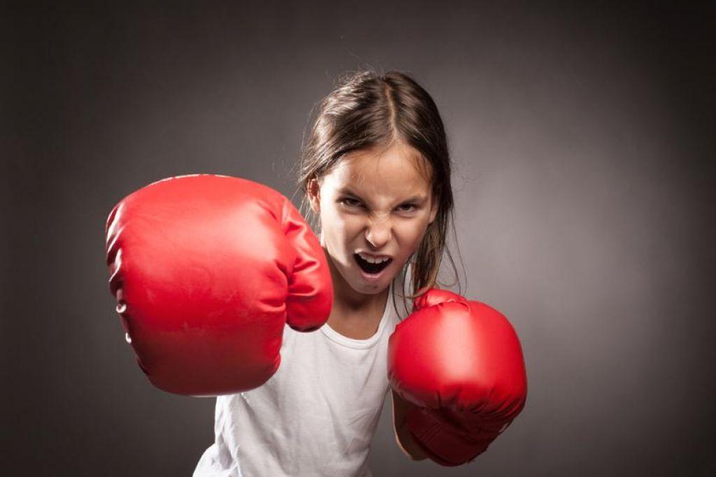 Dobrodelni prijateljski boks in kickboxing trening