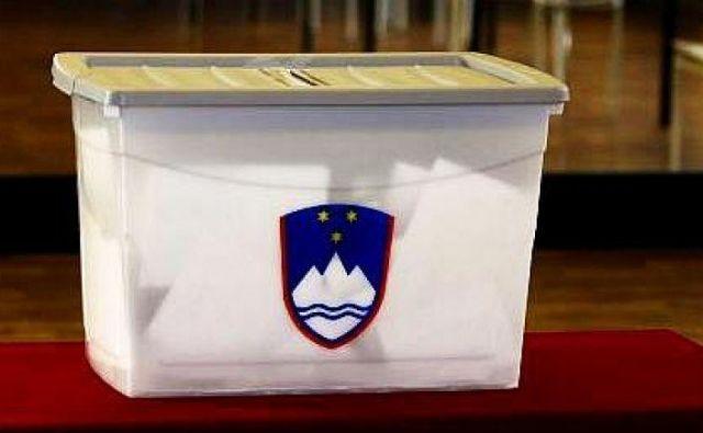 Kjer v prvem krogu župana ne bodo izvolili, bo drugi krog 2. decembra. FOTO: Blaž Samec/Delo