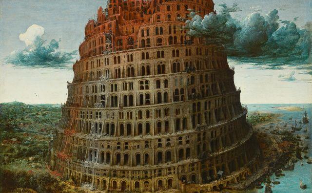 Evropa ni babilonski stolp, vsi jeziki v zvezi so enakopravni, večkulturnost in večjezičnost pa ohranja pri življenju prevajanje. Na fotografiji slika Pietra Bruegla <em>Babilonski stolp</em>, 1563.