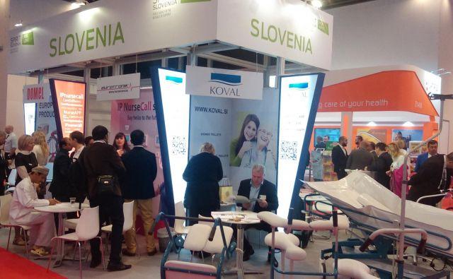 Skupinska predstavitev slovenskega gospodarstva na sejmu Arab Health 2018, Dubaj (foto: arhiv SPIRIT Slovenija, javna agencija).<br />
