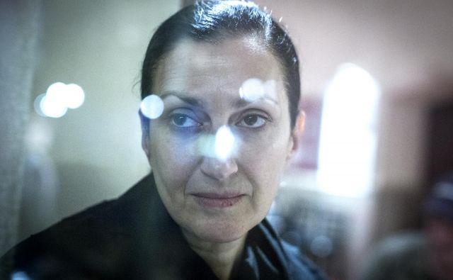 »Manane ne vidim. Čutim jo,« pravi gruzijska igralka Nata Murvanidze. Foto Voranc Vogel