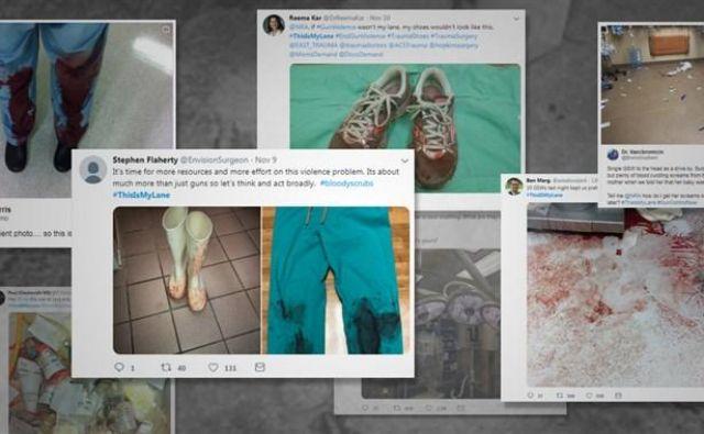 V kampanjo proti orožju so aktivno vstopili zdravniki s posnetki tragedij, ki jih spremljajo tako rekoč vsak dan. Foto #thisismylane