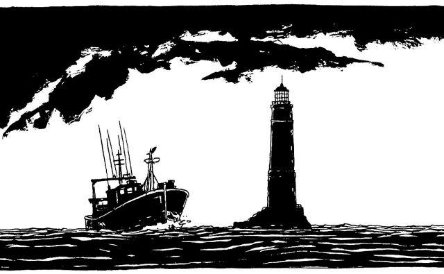 Katero knjigo bi vzeli s sabo na samotni otok? © Vents d'Ouest, za slovensko izdajo VigeVageKnjige