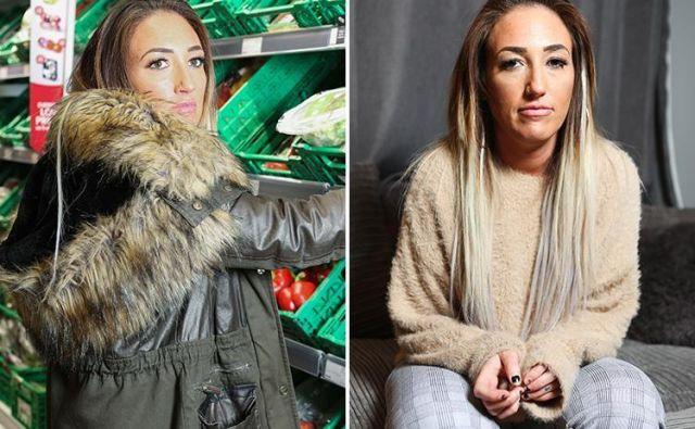Brez supermarketov ji živeti ni. FOTO: Facebook