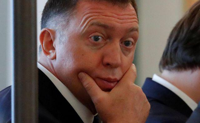 Premoženje ruskega oligarha Olega Deripaske je v desetih letih uplahnilo z 28 na 3,3 milijarde dolarjev. Foto Reuters
