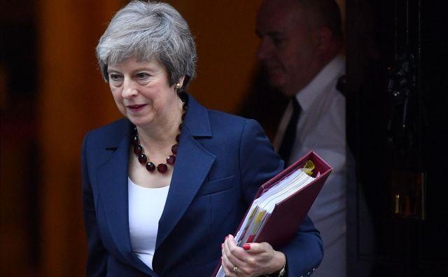 Britanska premierka Theresa May. FOTO: Ben STANSALL / AFP
