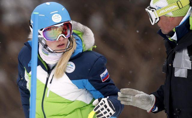 Ana Bucik je bila lani v Leviju deveta. Laponsko smučišče je eno njenih ljubših. FOTO: Matej Družnik/Delo