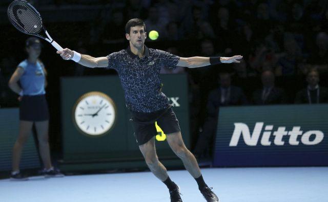 Novak Đoković je v drugi polovici sezone spet ujel šampionsko formo. FOTO: AP