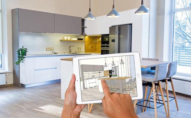 Z aplikacjiami za pametne telefone in tablice se lahko sami lotite urejanja doma. Foto: Shutterstock