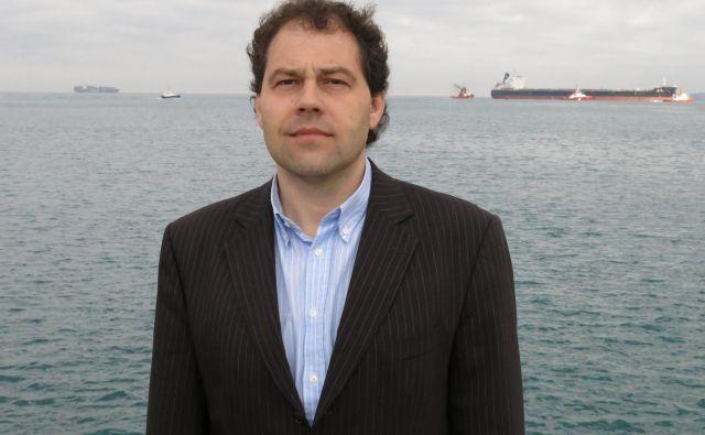 Predsednik uprave Okolja Piran Alen Radojkovič. Foto Boris Šuligoj
