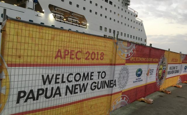 Azijsko-pacifiški gospodarski forum letos poteka v Port Moresbyu. FOTO: Jonathan Barrett/Reuters