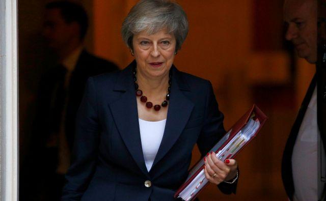 Britanska premierka Theresa May. FOTO: REUTERS/Henry Nicholls