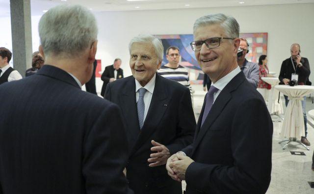 Franjo Bobinac (na fotografiji desno) je član Trilateralne komisije od leta 2017. FOTO: Jože Suhadolnik